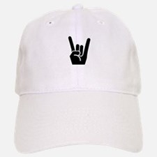 Rock Finger Symbol Baseball Baseball Cap