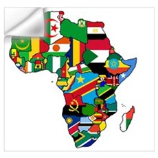 Flags of Africa Wall Decal