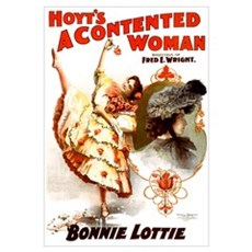 Contented Woman Poster