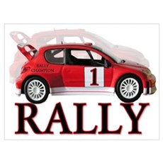 ...Rally Red... Canvas Art