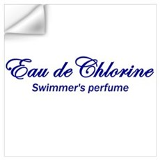 Eau de Chlorine Wall Decal