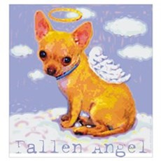 Fallen Angel - Chihuahua Canvas Art
