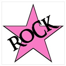ROCK STAR Canvas Art