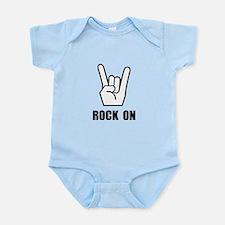 Rock On Sign Infant Bodysuit