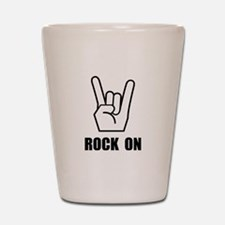 Rock On Sign Shot Glass
