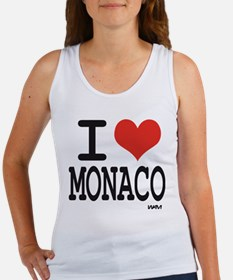 I love Monaco Women's Tank Top