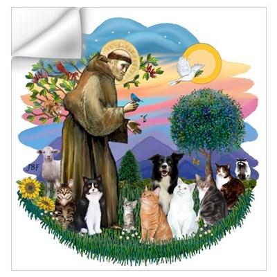 StFrancis2 / Wall Decal