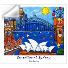 Sydney Painting On Wall Art Wall Decal