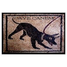 """Cave Canem"" [Pompeii] Poster"
