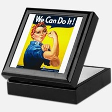 Rosie We Can Do It Keepsake Box
