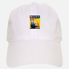 Rosie We Can Do It Baseball Baseball Cap