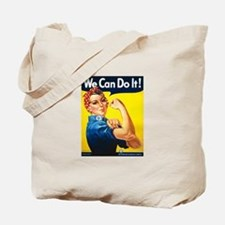 Rosie We Can Do It Tote Bag
