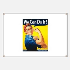 Rosie We Can Do It Banner