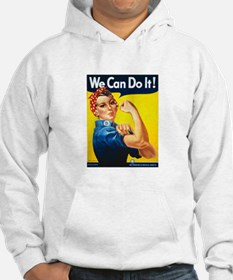 Rosie We Can Do It Hoodie