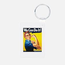 Rosie We Can Do It Keychains