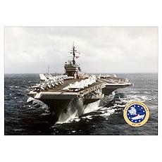 USS Constellation CV-64 Poster