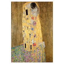 Unique Klimt the kiss Wall Art
