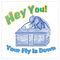 Your Fly Is Down Poster