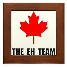 Canada The Eh Team Framed Tile
