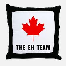 Canada The Eh Team Throw Pillow