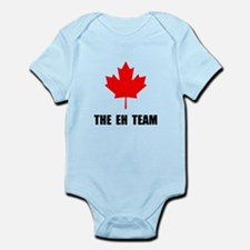 Canada The Eh Team Infant Bodysuit