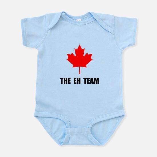 Canada The Eh Team Infant Bodysuit