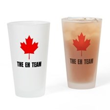 Canada The Eh Team Drinking Glass