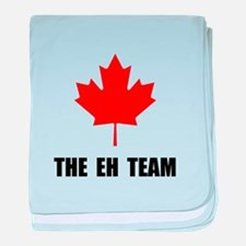 Canada The Eh Team baby blanket