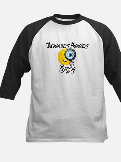 Sneaky Peeky Spy Kids Baseball Jersey