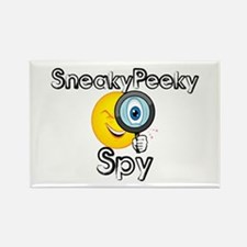 Sneaky Peeky Spy Rectangle Magnet