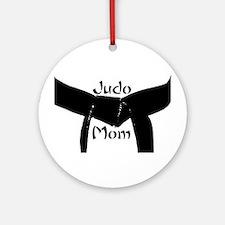Martial Arts Judo Mom Ornament (Round)
