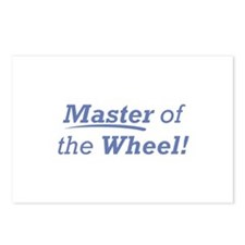 Wheel / Master Postcards (Package of 8)