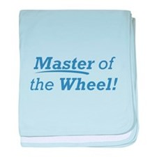 Wheel / Master baby blanket