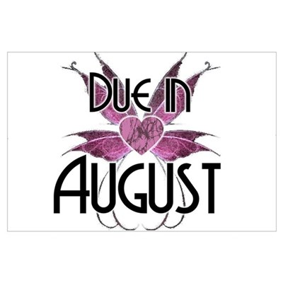 Due In August Fairy Wings Poster
