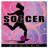 Soccer Wrapped Canvas Art