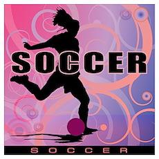 2011 Girls Soccer 2 Poster