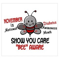 Diabetes Awareness Month 4.1 Canvas Art