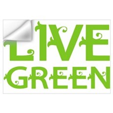 Live Green Wall Decal