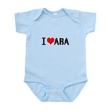 I Heart ABA Infant Bodysuit
