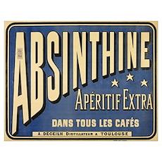 Absinthine Poster