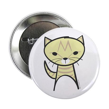 """Tabby Cat 2.25"""" Button"""