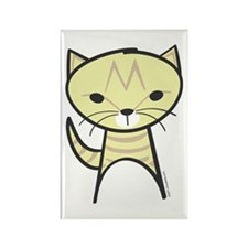 Tabby Cat Rectangle Magnet
