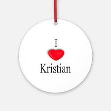 Kristian Ornament (Round)