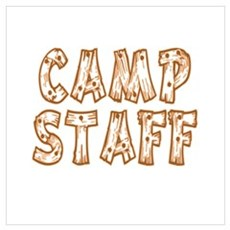 Camp Staff Poster