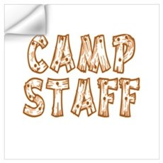 Camp Staff Wall Decal