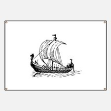 Viking Ship Banner