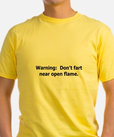 warning don't fart T