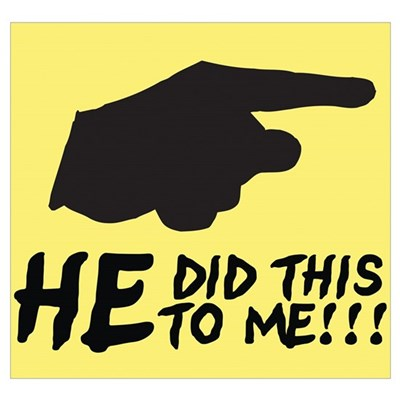 HE did this to me Poster