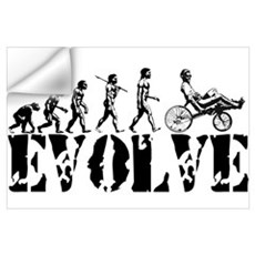 Recumbent Bicycle Wall Decal