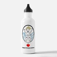 I Love Naked Waterslides Water Bottle
